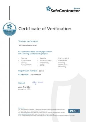 SC - Certification of Varification